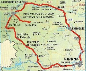Mapa De Girona Provincia.Rutas En Coche Por La Provincia De Girona Can Gat Vell